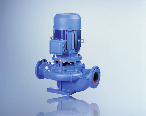 isg单级单吸立式管道离心泵