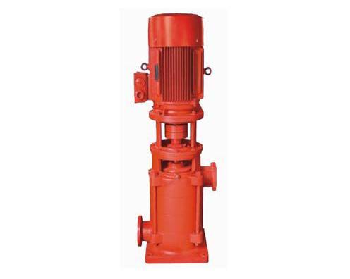 立式多级消防稳压泵的叶轮离心力作用