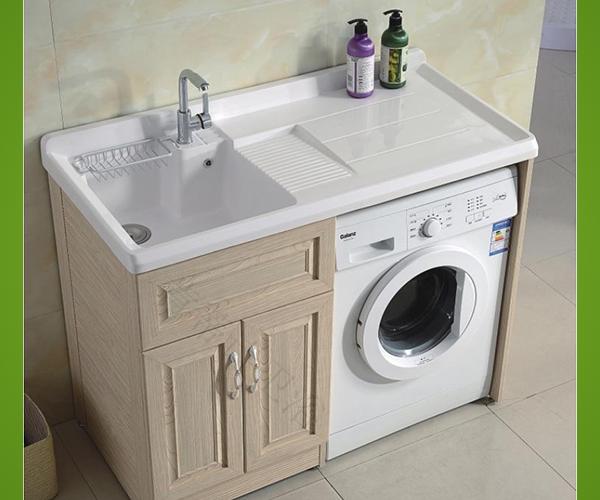 古典整体铝合金浴室柜