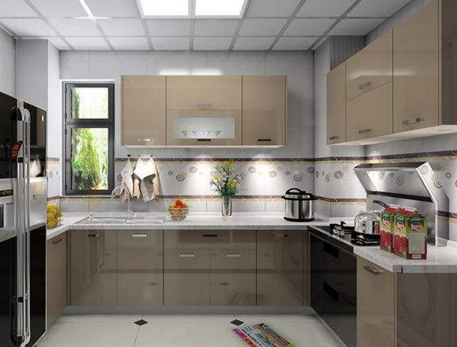 铝合金橱柜厂家分享铝合金橱柜颜色搭配的舒服