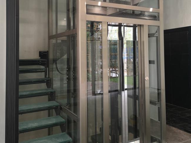 别墅透明电梯