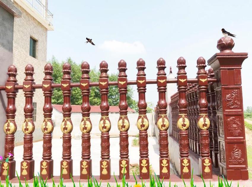吉安水泥仿木护栏围栏栏杆的性能特点