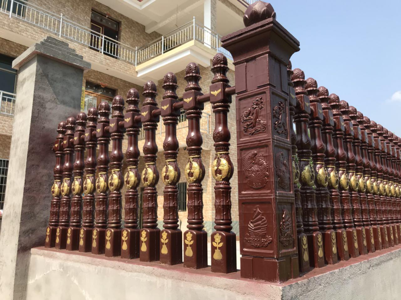 你知道吉安水泥仿木栏杆造型的制作步骤吗?
