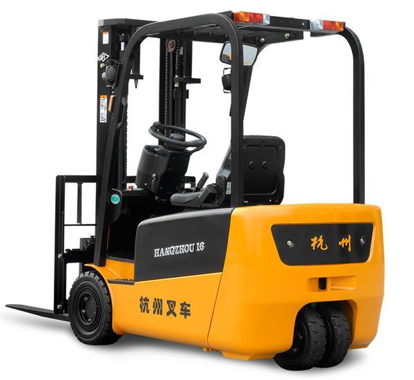 J系列1.3-2吨三支点前驱(后双轮)电动叉车租赁