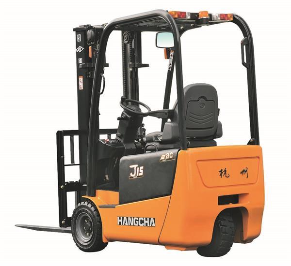 J系列1-1.5吨三支点(后驱)电动叉车租赁