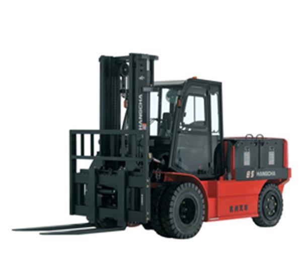 X系列5-8.5吨蓄电池电动叉车租赁