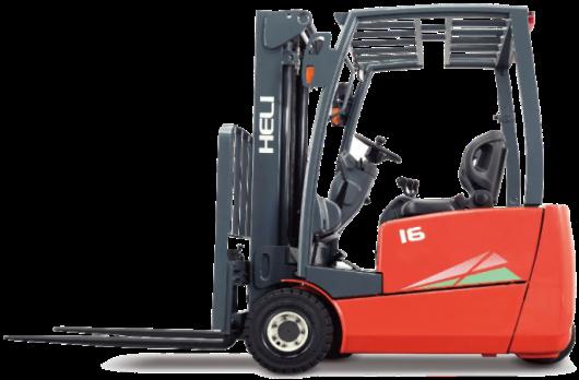 EFG系列1.6吨前驱三支点蓄电池平衡重式叉车租赁