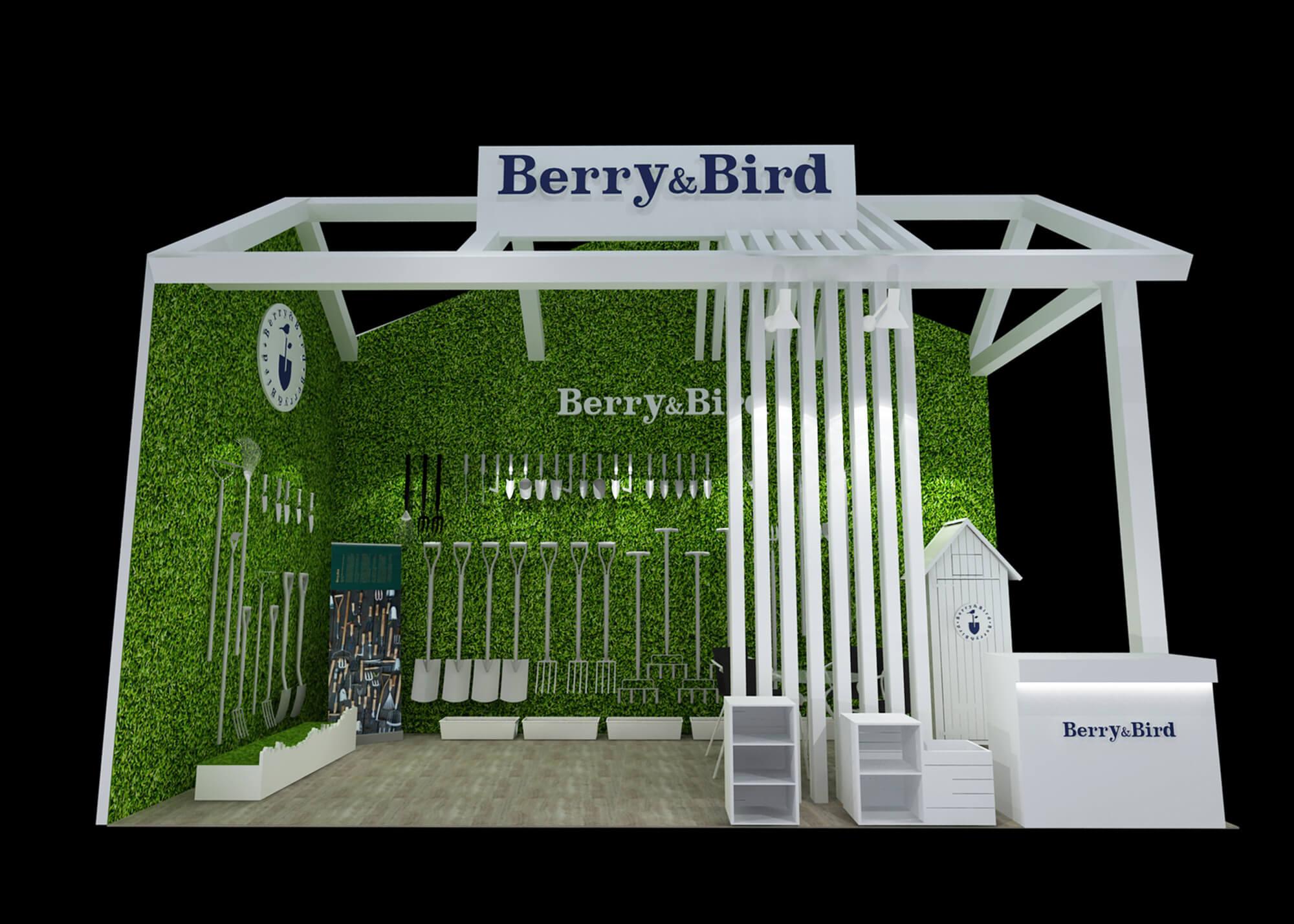 园艺展展览设计搭建