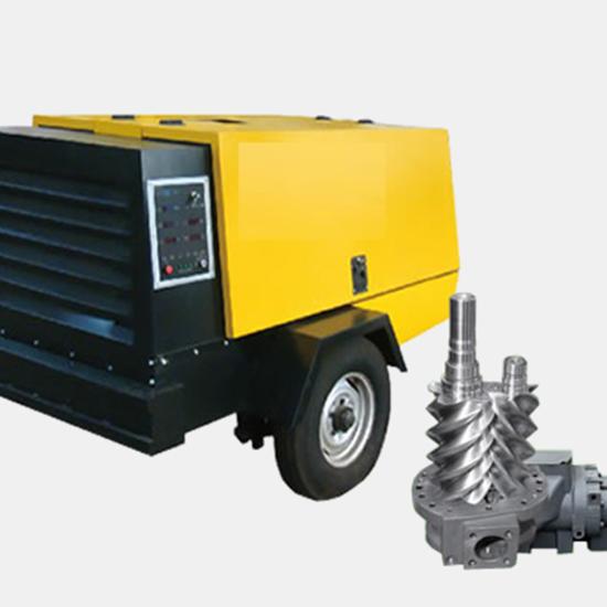 柴油移动式螺杆空压机