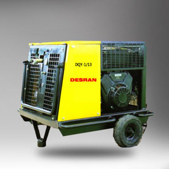 DQY-113汽油移动螺杆式空压机