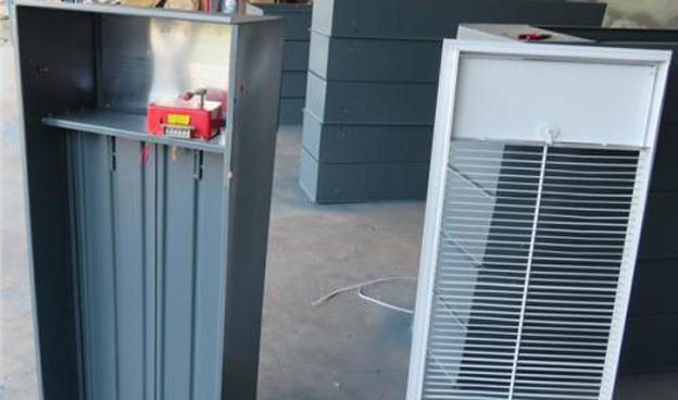 电动板式排烟口