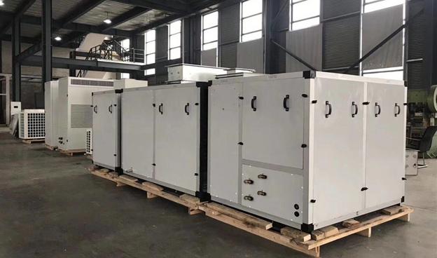 直膨式空调机组生产