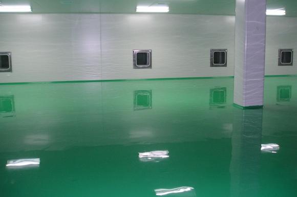 吉安环氧地坪怎么选择面漆的颜色呢?