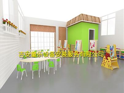 幼儿园美工室