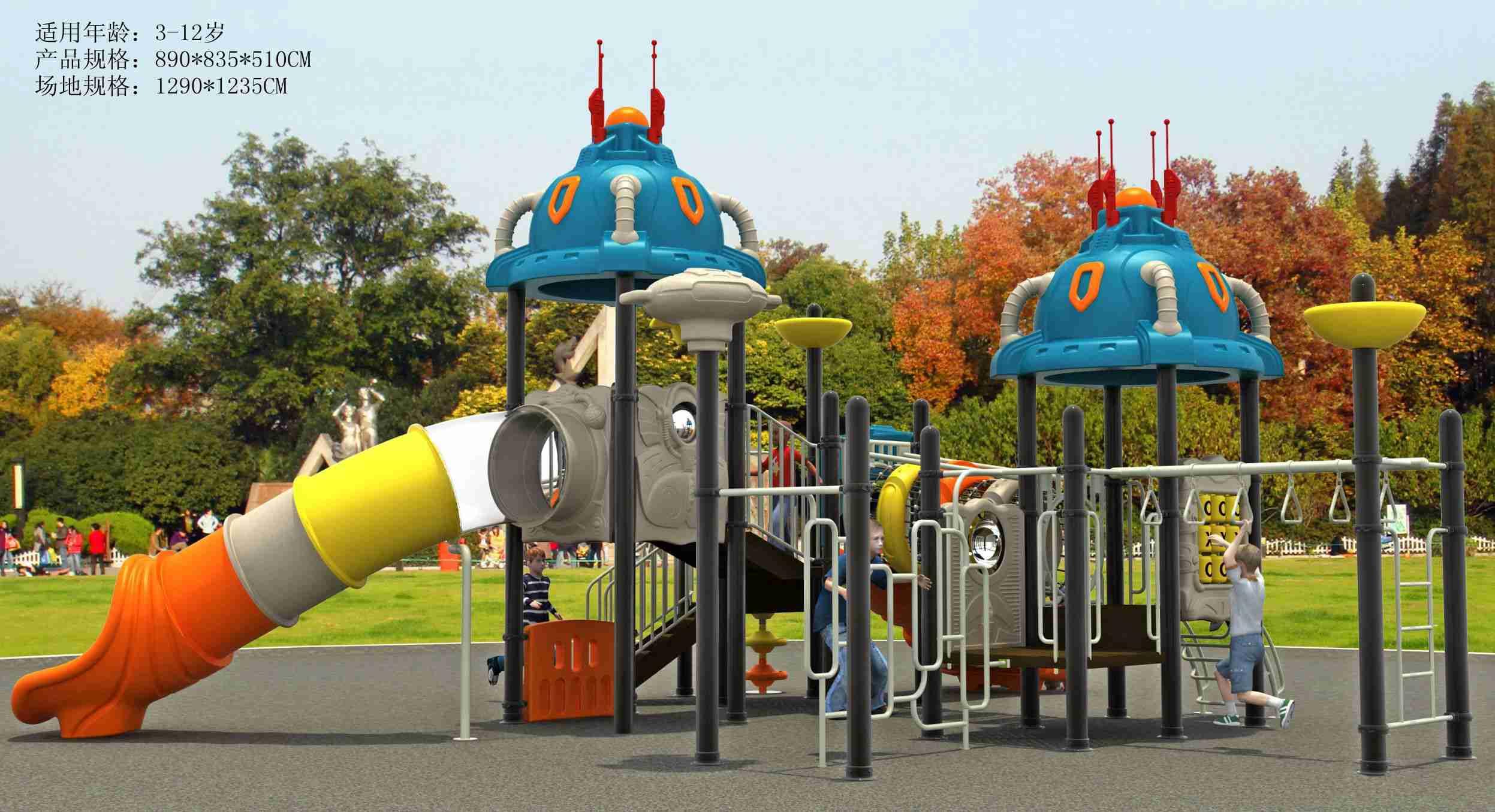 吉安童乐设备儿童游乐设备分类非动力设备及动力设备