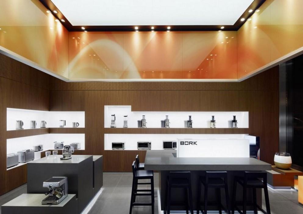 BORK高级家电专卖店舞台展板搭建