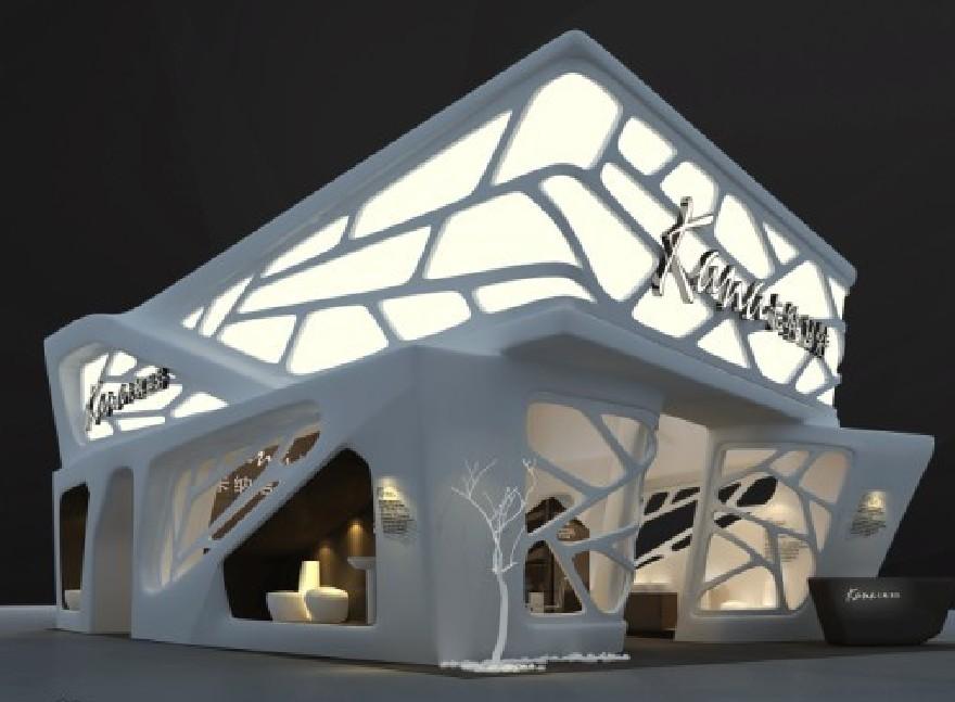 卡纳卫浴展台设计搭建