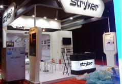 STRYKER医药展展台设计搭建