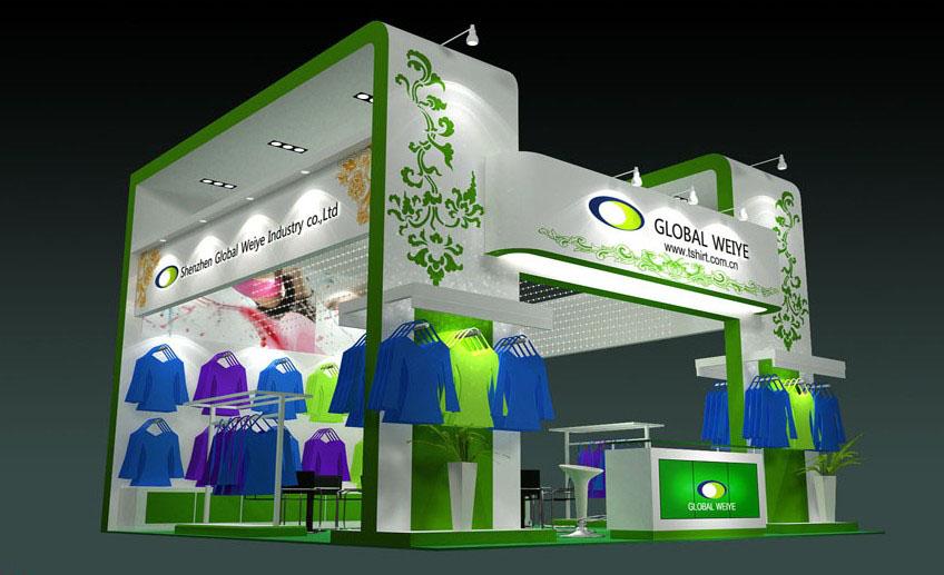 深圳环球服装展台设计搭建