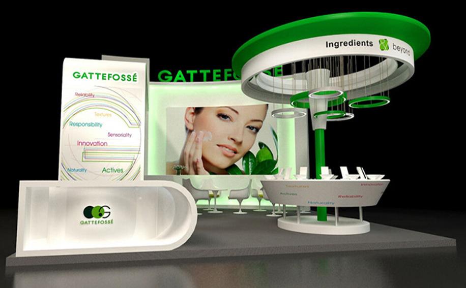 展台设计搭建公司-笔煊展览十年特装展位设计搭建经验