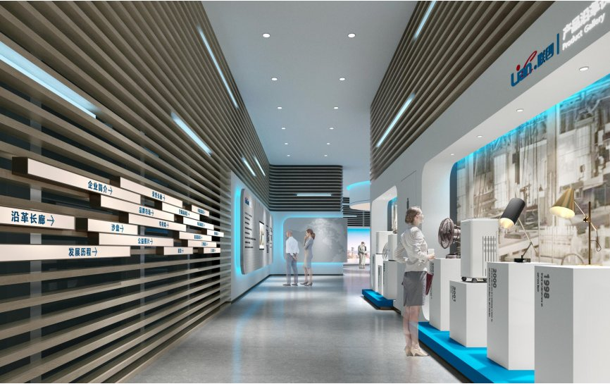 企业展厅策划装修-企业品牌展厅设计装修