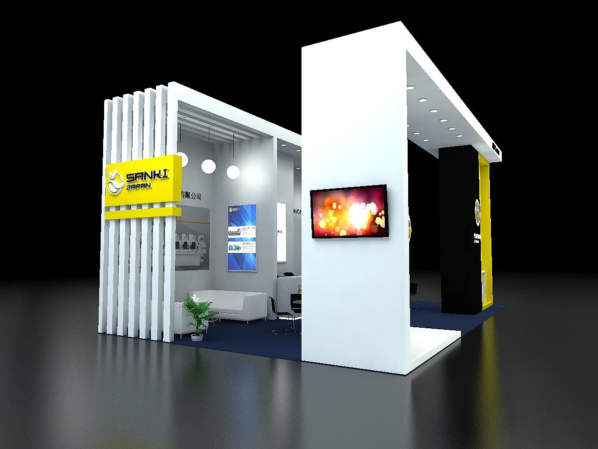 能源展展台设计机械设备