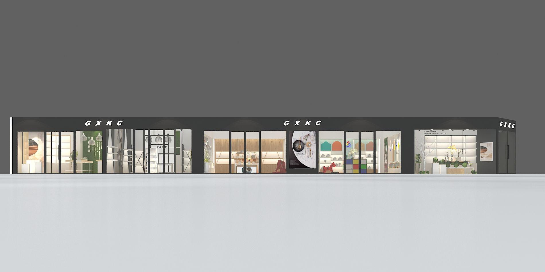 广州家具展展览设计搭建