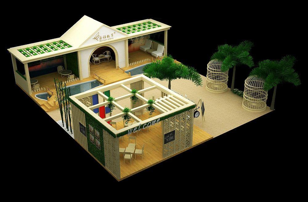 家居建材展展览设计搭建