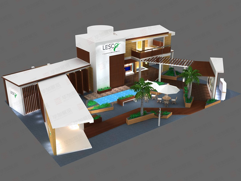 广州展览设计:建材展览会的地面材料