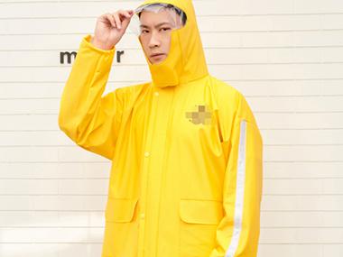 骑手装备-雨衣
