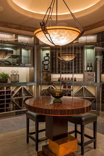 一般的家庭定制恒温酒柜都是为了收藏用