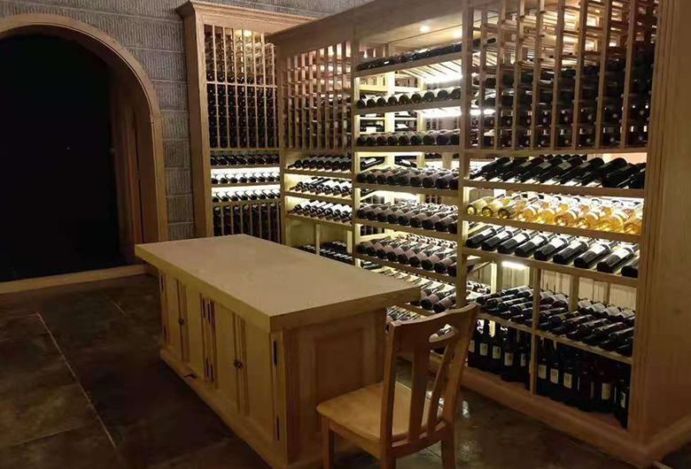 朝阳区哪家地下酒窖设计公司的地下酒架设计的好