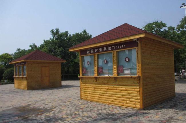 景区防腐木小木屋