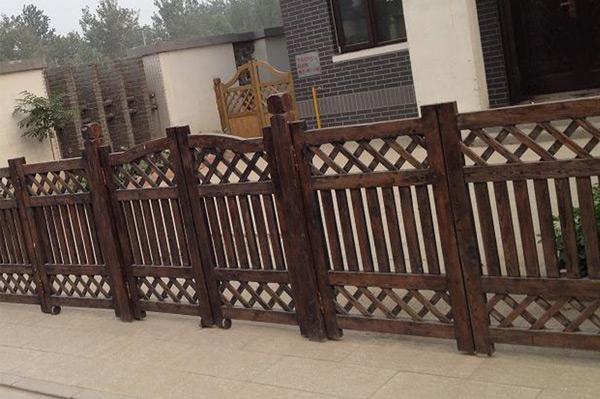 庭院防腐木围栏