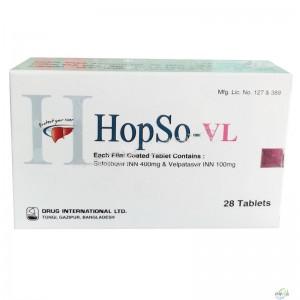 孟加拉DIL版  吉三代sofosbuvir + velpatasvir  说明书