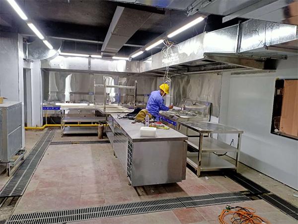 餐馆厨房排烟系统