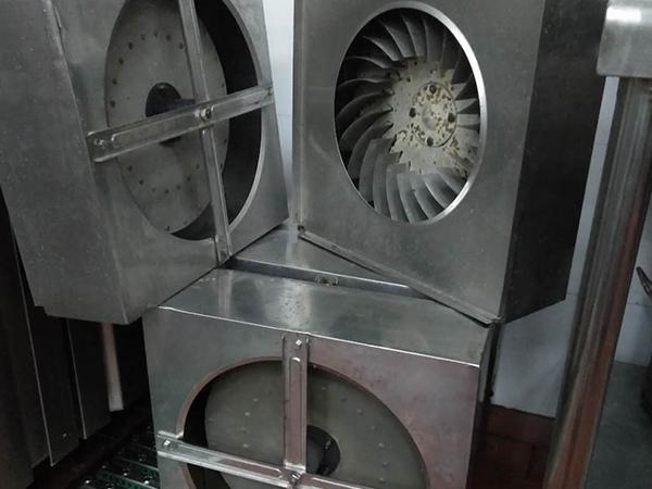 白铁皮加工风管