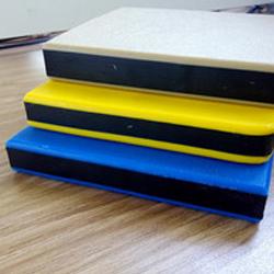 阻燃型高密度聚乙烯雙色板