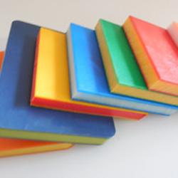 阻燃型高密度聚乙烯双色耐磨衬板