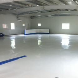 耐磨聚乙烯溜冰场地板