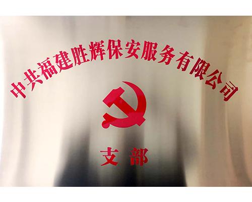 福建胜辉保安服务有限公司党支部