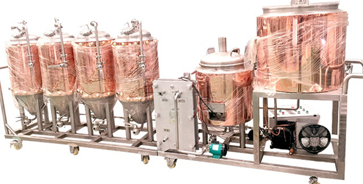 中型自酿啤酒设备
