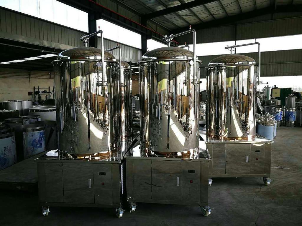 自酿啤酒设备厂告诉你:大罐的发酵工艺与传统发酵的区别?
