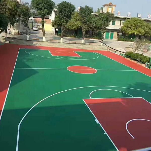篮球场丙烯酸地坪