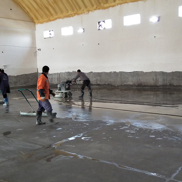 仓库固化耐磨地坪