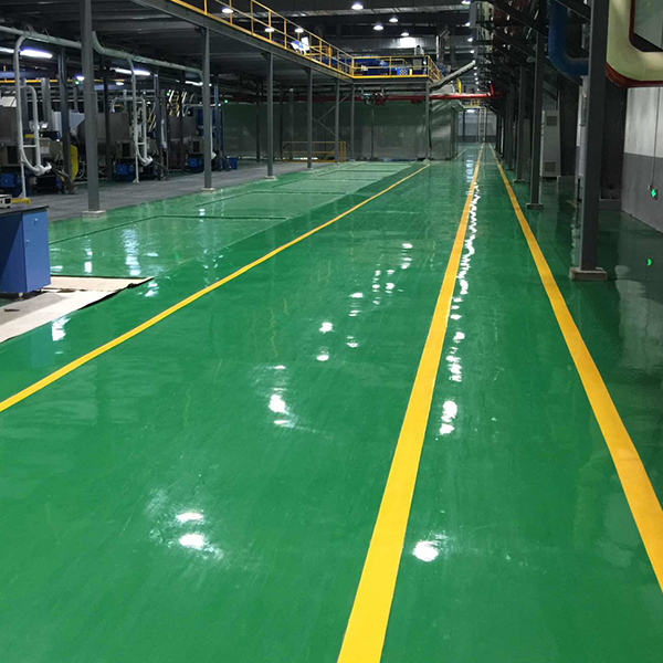 耐磨彩色固化地坪