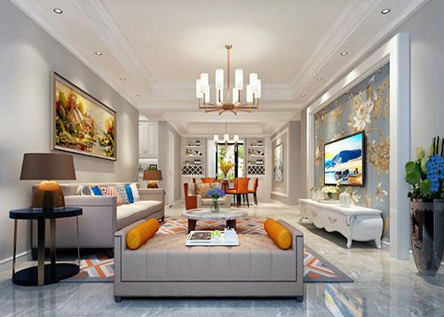 吉安室内装饰设计美式客厅装饰的相关注意问题和搭配原则