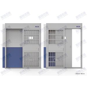 拘留所监室门