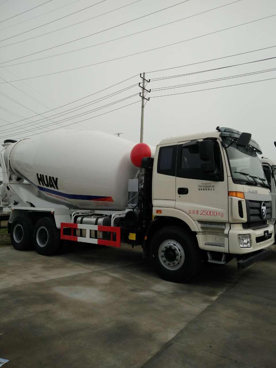 掌握水泥搅拌车清洗技巧对提高搅拌罐的装载容积有帮助