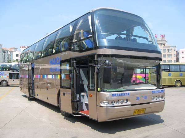 西安到渭南大巴车租赁